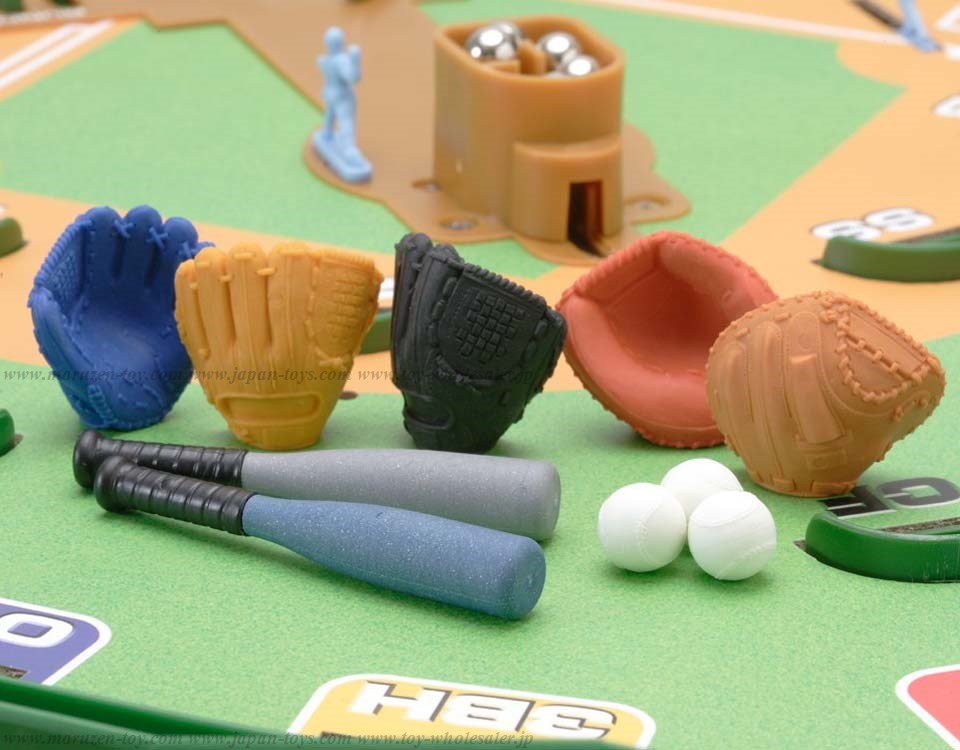 Baseball Erasers -Iwako Made in Japan- (Colors/Designes/Assortments may changed without Notice)
