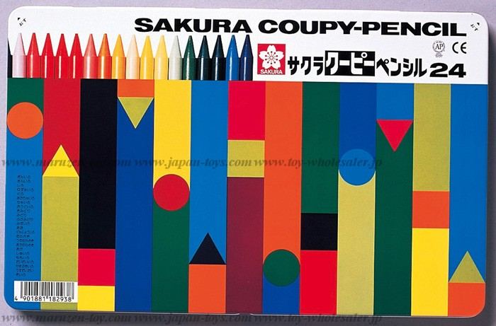 Sakura Color Products Corp - Coupy Pencil 24 Colors