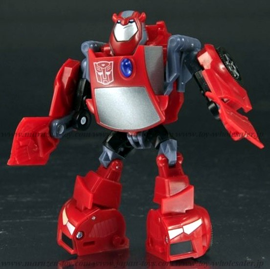 Japan Limited! Metalic Color! TRANSFORMERS ANIMATED 10 Cliffjumper