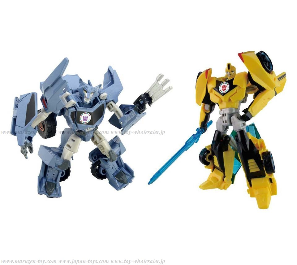 TakaraTomy Transformers New Anime Series TAVVS01 Bumblebee VS Steeljaw