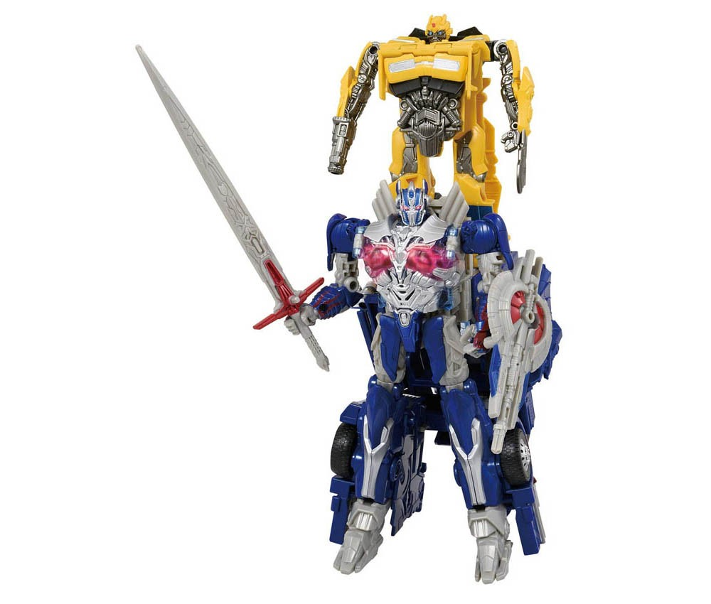 [TakaraTomy] Transformers Turbo Change TC-13 Battle Command Optimus Prime Almighty Command Set