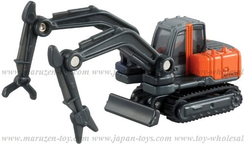 [TakaraTomy] BOX Tomica No.65 Hitachi Kenki Advanced System with Twin Arm for Complex Operation