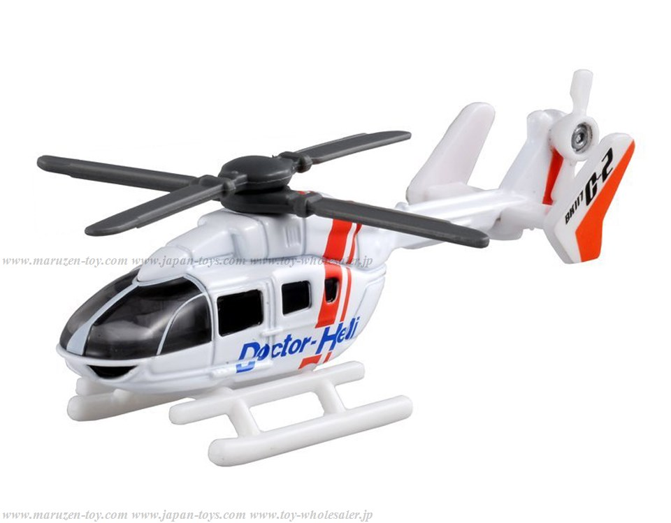[TakaraTomy] BOX Tomica No.97 Doctor Helicopter
