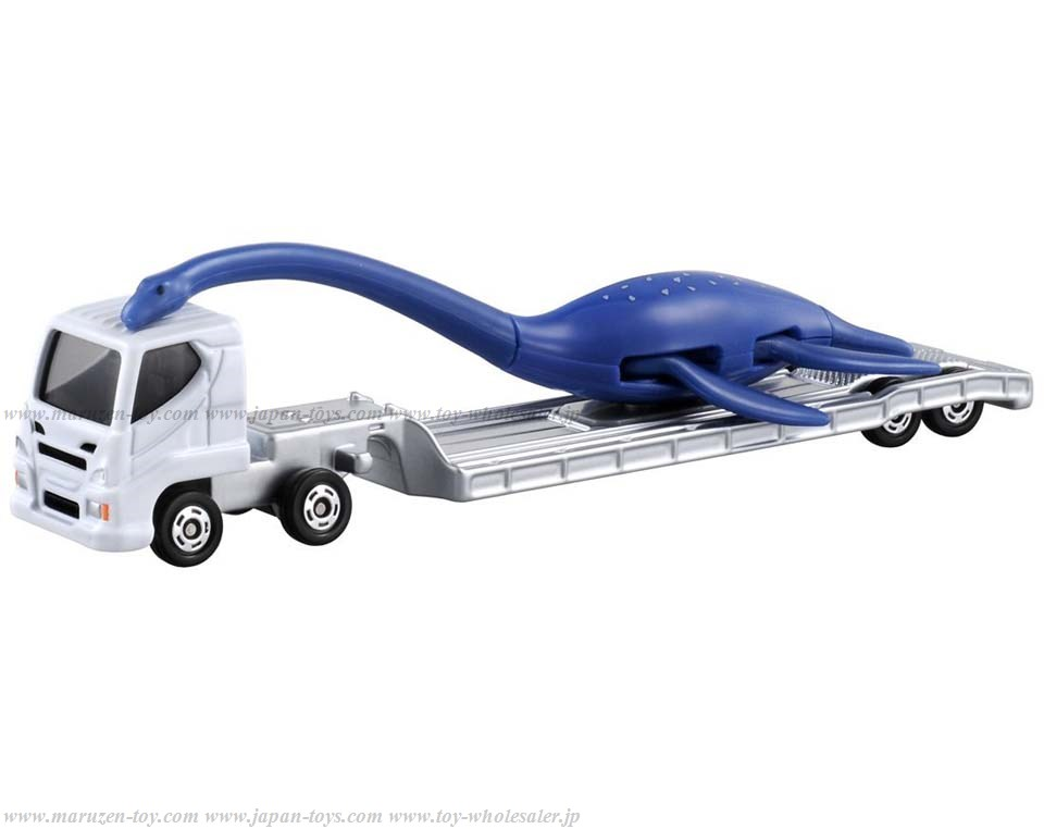 Tomica: (Long Type) NewNo.137 Plesiosauria Carrying Car (Tentative Name)