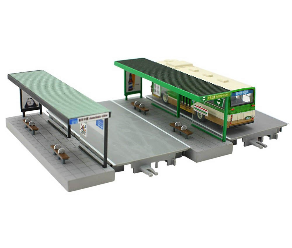 [Tomytec] 1/150scale Diorama Accessories 122 Bus Stop C
