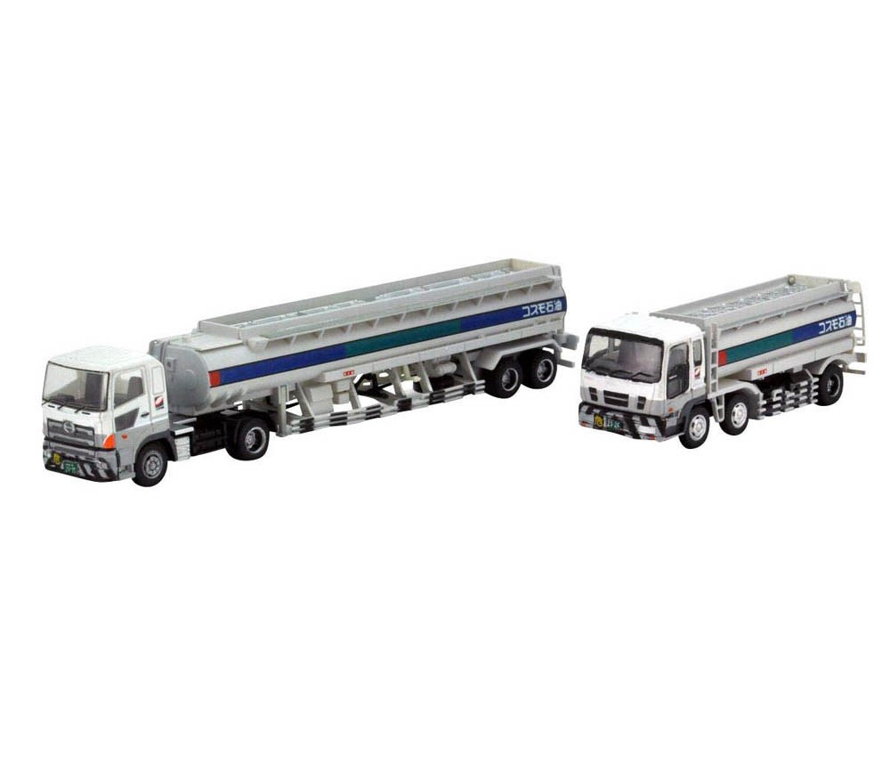 [Tomytec] The Truck/Trailer Collection Cosmo Oil Tank Truck Set
