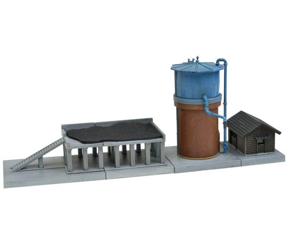 [Tomytec] Visual Scene Accessory 081-2 Water Tower & Coal Yard A2