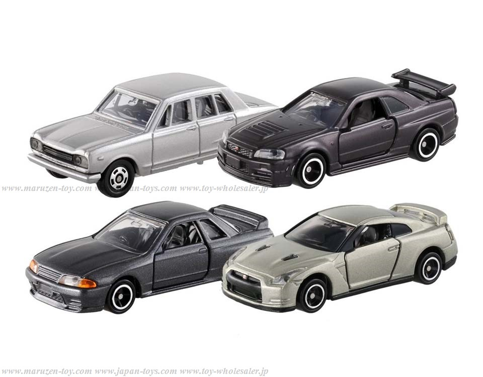 [TakaraTomy] Tomica Gift Eikou no (Glorious) GT-R Set