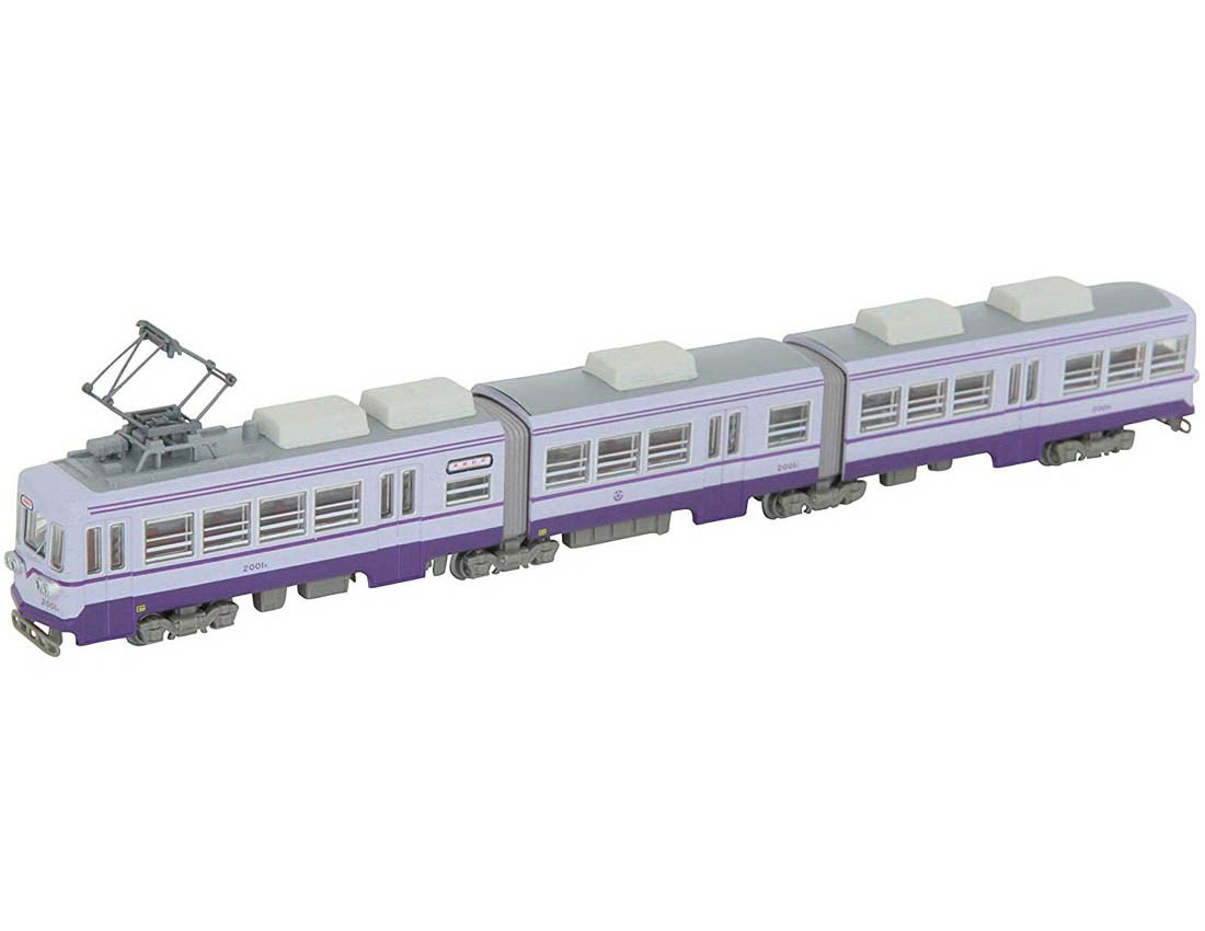 [Tomytec] Tetsudo(Train) Collection Chikutoyo Electric Tailway 2000kei 2001go(Purple)