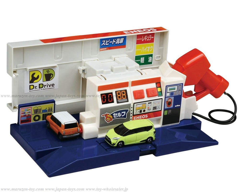 [TakaraTomy] Tomica Work Experience Lots of Sounds! BuruBuru Gas Station ENEOS(New Packing)