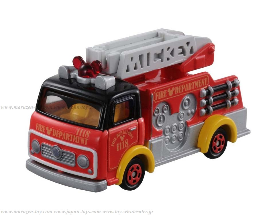 [TakaraTomy] Disney Morters DM-17 Caspals Fire Truck Mickey Mouse