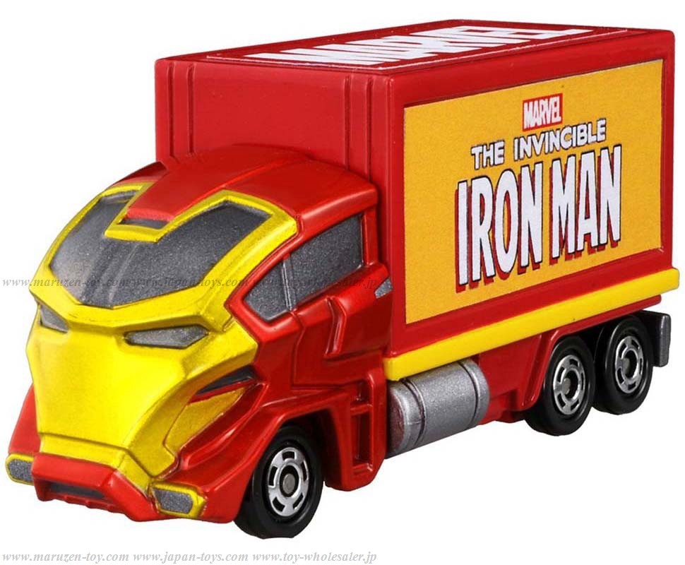 TakaraTomy Disney Tomica Marvel Tune Evo.2.0 Masked Carry Ironman(仮)