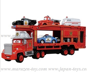 Tomica : CARS Tomica Rescue Go! Go! Carrier Car Mack