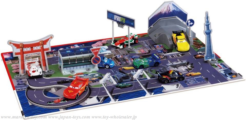 TakaraTomy Cars Tomica : Play Map Japan