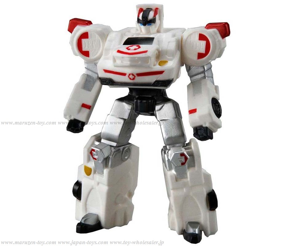[TakaraTomy] Tomica Hiper Rescure Drive Head BIG Sofubi Series: White Hope